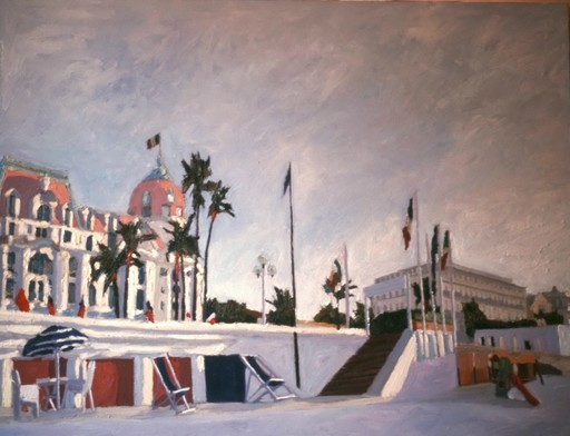 Omar LOGANG - Peinture - Negresco