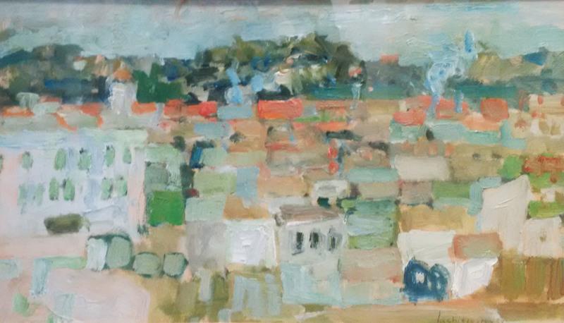 Henri LACHIEZE-REY - Painting - Paysage