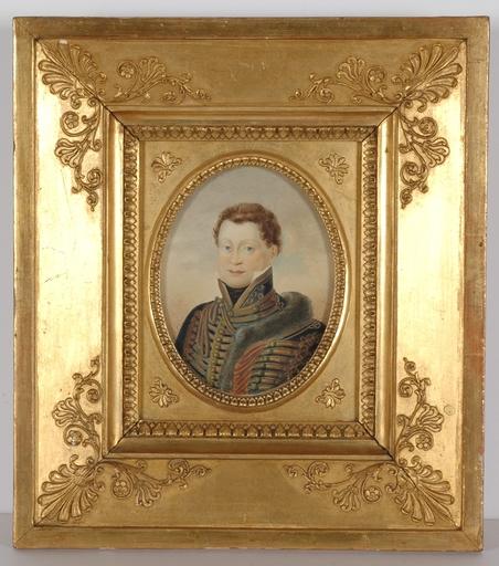 "Bernhard VON GUÉRARD (Attrib.) - Miniatura - ""Prince Palffy"", Miniature"
