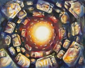 David BREUER-WEIL - Painting - Asleep