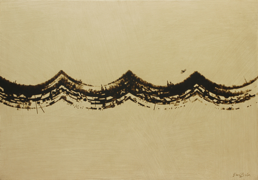 Rinat VOLIGAMSI - Painting - Wave-Landscape