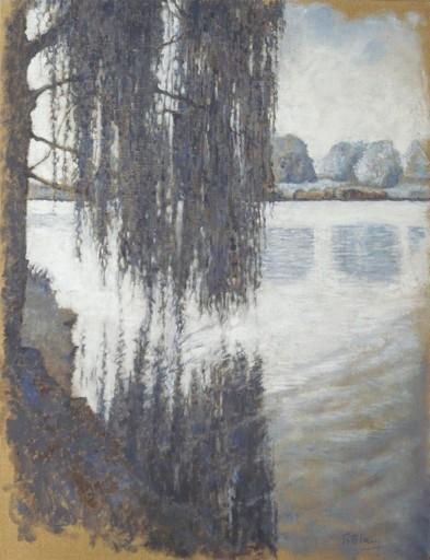 Carlos ESTEBAN - Painting - Le motif du saule 6 (Cat N° 3446)