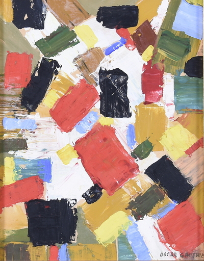Oscar GAUTHIER - Painting - Composition