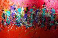 """Caroline VIS - Painting - """"Les Parisiens"""""""