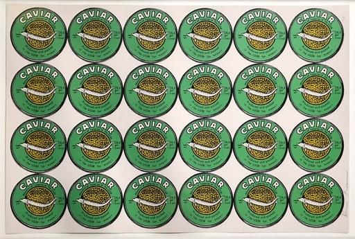 Aleksander KOSOLAPOV - 版画 - Caviar (Green)
