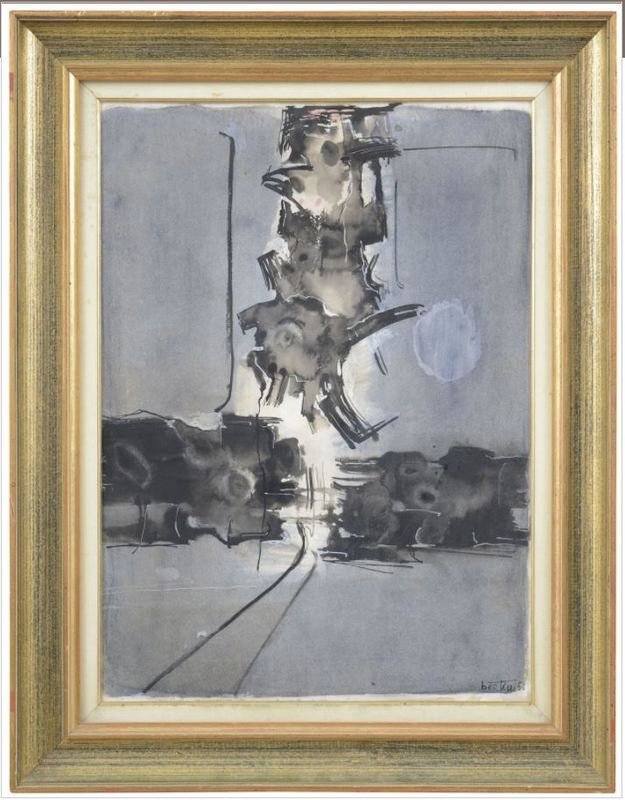 Gianni BERTINI - Painting - Desire de Selene