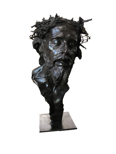 Romain LANGLOIS - Sculpture-Volume - Couronne d'épines