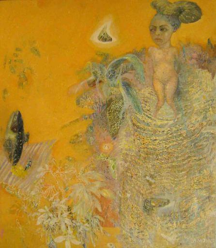 Eva ADAMOWICZ - Painting - Elle a perdu l'envie de manger le poisson