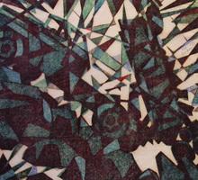 Sybil ANDREWS - Estampe-Multiple - Rock