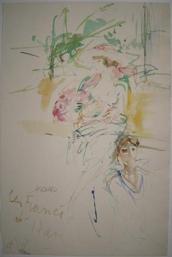 Jacques PECNARD - Dessin-Aquarelle - LA FRANCE DE 13 ANS