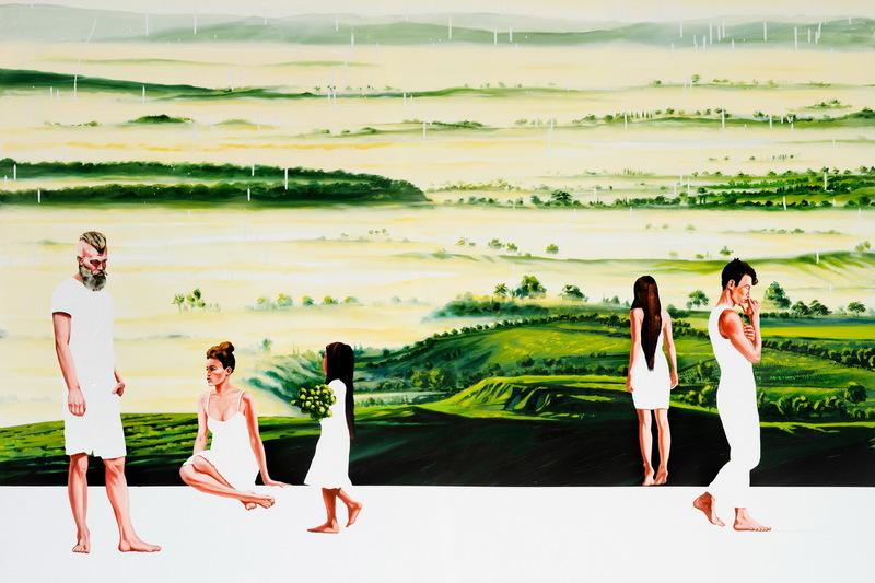 Corrado ZENI - Painting - Seven Seconds
