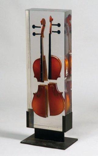 Fernandez ARMAN - Escultura - Violon quatre quarts