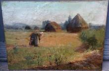 Léon Augustin LHERMITTE - Painting