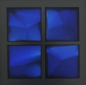 Alain-Jacques LEVRIER MUSSAT - Painting - Vimos 478-III
