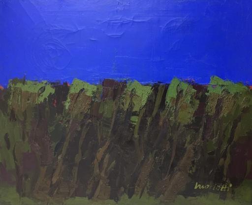 Ennio MORLOTTI - Pintura - Paesaggio a Bordighera