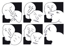 Alfonso HUPPI - Grafik Multiple - o.T.
