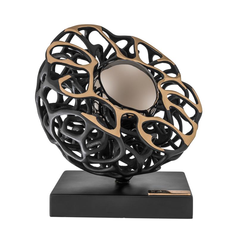 Gianfranco MEGGIATO - Sculpture-Volume - La Perla Nera