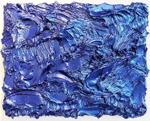 Shayne DARK - Peinture - Storm Surge Cobalt Large