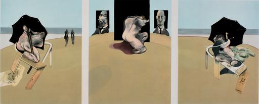 Francis BACON - Estampe-Multiple - Triptych 1974-1977