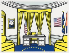 Roy LICHTENSTEIN - Print-Multiple - The Oval Office