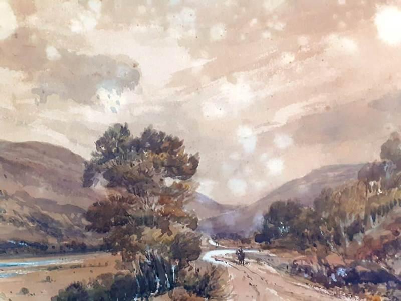 William SIMPSON - 水彩作品