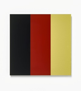 Gerhard RICHTER - Stampa-Multiplo - Schwarz - Rot - Gold IV