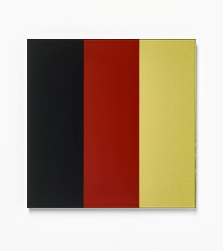 Gerhard RICHTER - Estampe-Multiple - Schwarz - Rot - Gold IV