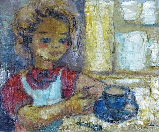 André LIBION - Pintura - Le Petite Dejuener No. 2