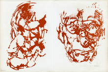 Louis LE BROCQUY - Print-Multiple - Joyce et Beckett