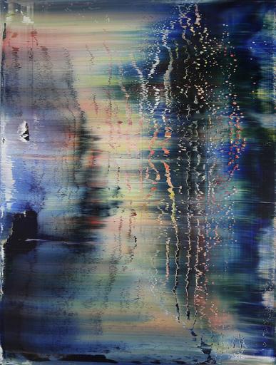 Harry James MOODY - Peinture - Abstract Fantasy No.277
