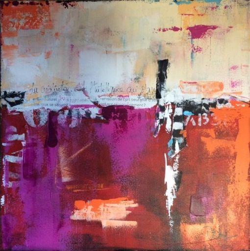 Dominique HEITZ - Painting - Le Mur d'ailleurs