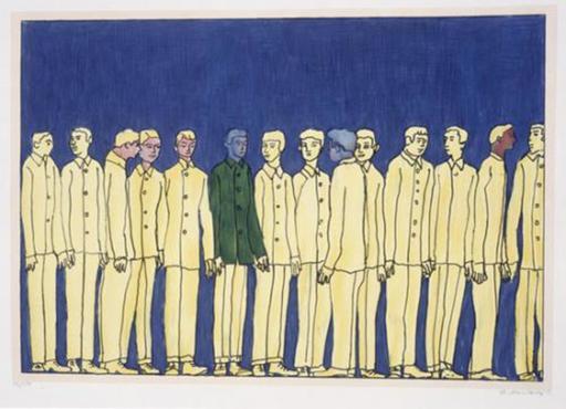 Ilya KABAKOV - Print-Multiple - Raw, The Beautiful Sixties,1969