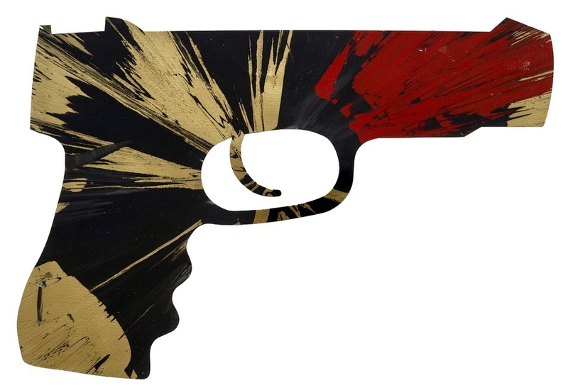 """Damien HIRST - Painting - """"Untitled Paper Spin Gift for Christina"""""""