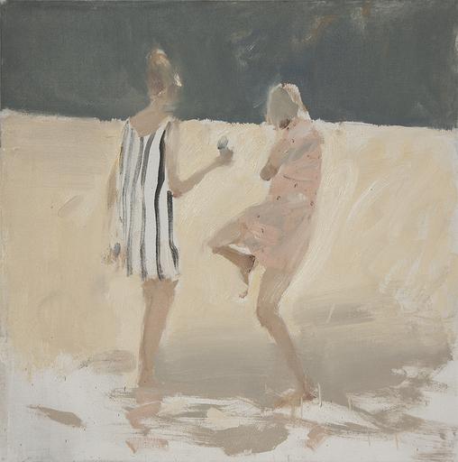 Vladimir SEMENSKIY - Gemälde - Two Young Girls