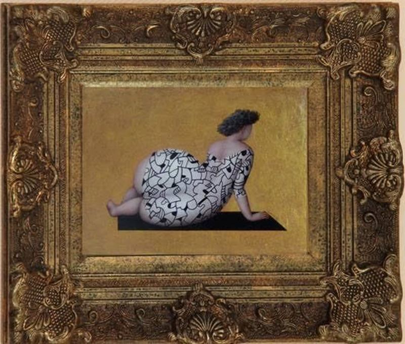 Jeanne LORIOZ - Painting - Shoot