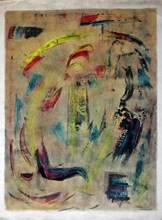 Edgar STOEBEL - Pintura - Composition abstraite