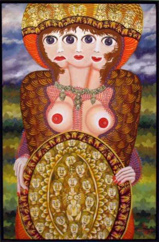 Robert ZEPPEL-SPERL - Painting - untitled