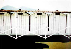 John Louis TORENBEEK - Painting - Stazione termale