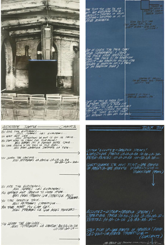 Vito ACCONCI - Painting - The American Gift