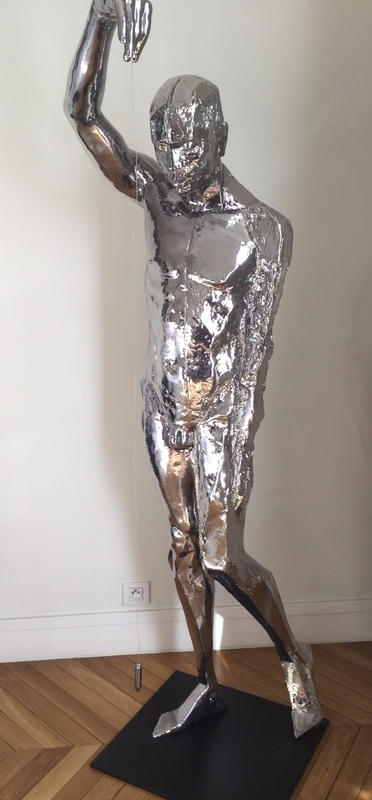 Mauro CORDA - Sculpture-Volume - Fil aplomb