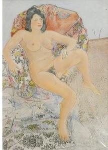 Louis CANE - Peinture - Nu
