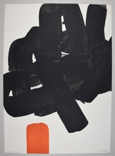 Pierre SOULAGES - Estampe-Multiple - lithographie 24b