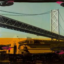 Tony SOULIÉ - Pintura - Untitled - San Francisco  (bridge)