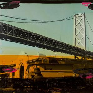Tony SOULIÉ - Pittura - Untitled San Francisco  (bridge scene)
