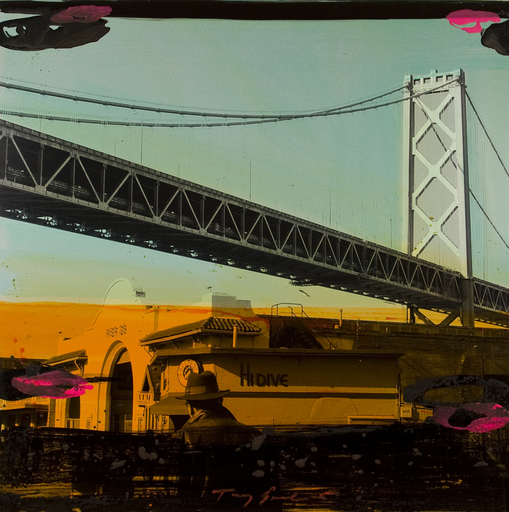 Tony SOULIÉ - Painting - Untitled  San Francisco (bridge)