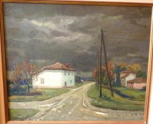 Jean RIGAUD, Ciel d'orage