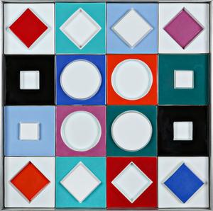Victor VASARELY - Ceramiche - Untitled