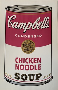 Andy WARHOL - Print-Multiple - Campbell's Soup I, Chicken Noodle F&S II.45