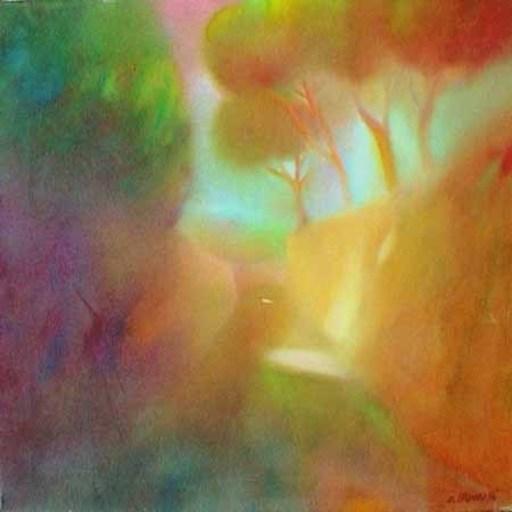 Enrico BANDELLI - Painting - Senza titolo