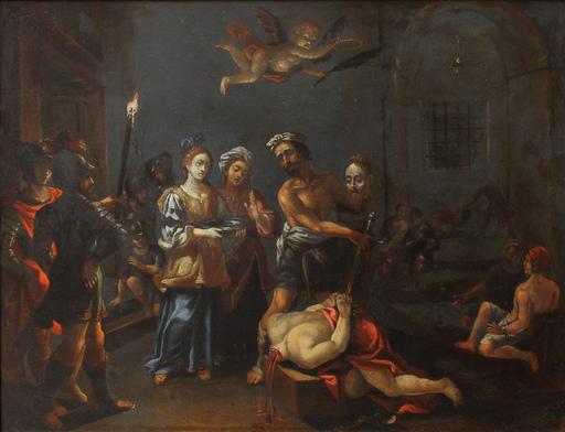 Pasquale OTTINO - Painting - Decollazione di san Giovanni Battista